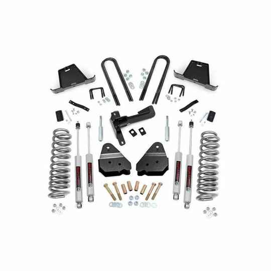 """Verhogingsset 4,5"""" Rough Country Ford F250 2005 tot 2007"""