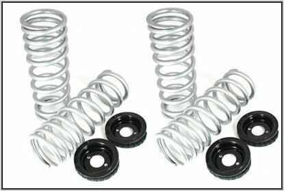 """2"""" lift medium load air to coil conversion kit Inc. F/R springs Discovery 2"""