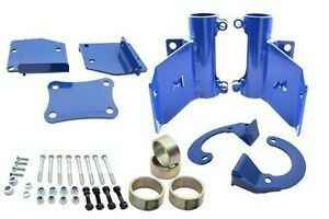 Hydraulic bump stop front mounting kit for DEF/D1/RRC