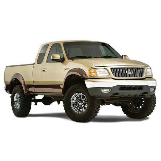 Achterspatbordverbreders Bushwacker Cut-Out Style Ford F150 (1997 tot 2003)
