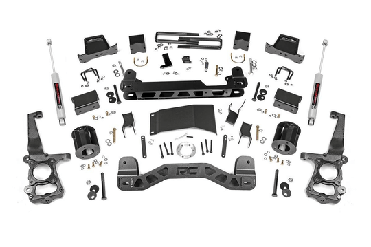 Rough Country 6'' Lift kit F150 4x4 2015-2019