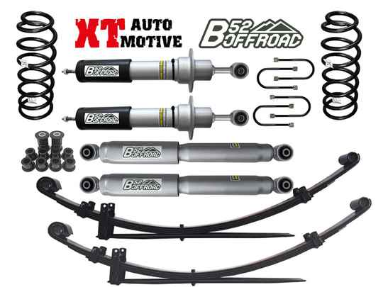 LIFT KIT + 5 CM B52 OFFROAD FOR NISSAN PICK UP D40