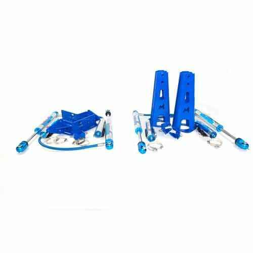 """11"""" travel Mega Sport shocks and front & rear mounting kits DEF/D1/RRC"""