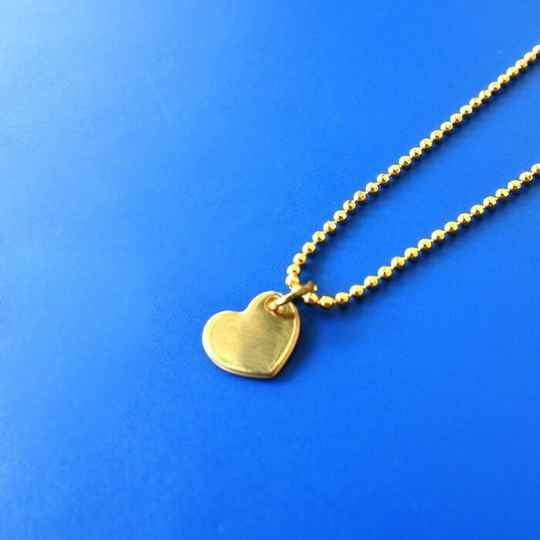 All Things We Like Gouden Ketting Hart