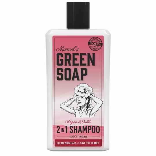 Marcel's Green Soap 2 in 1 Shampoo Argan & Oudh (500ML)