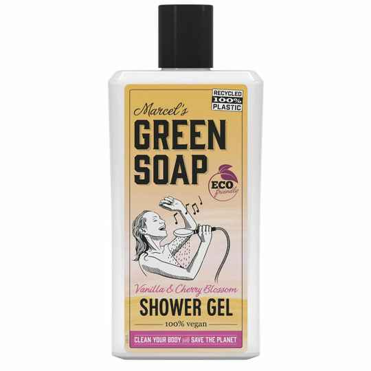 Marcel's Green Soap Shower Gel Vanille & Kersenbloesem (500ML)