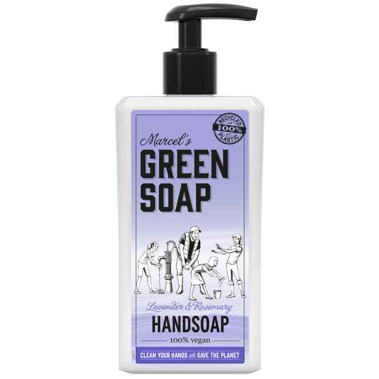 Marcel's Green Soap Handzeep Lavendel & Rozemarijn 250ml of 500ml