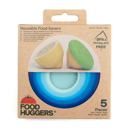 Food Huggers set van 5 Ice Blue