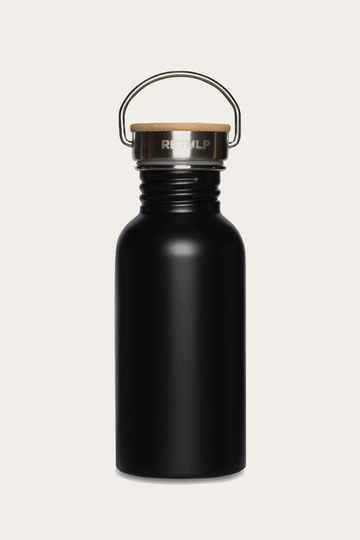 Retulp Urban Waterfles Night Black 500ml