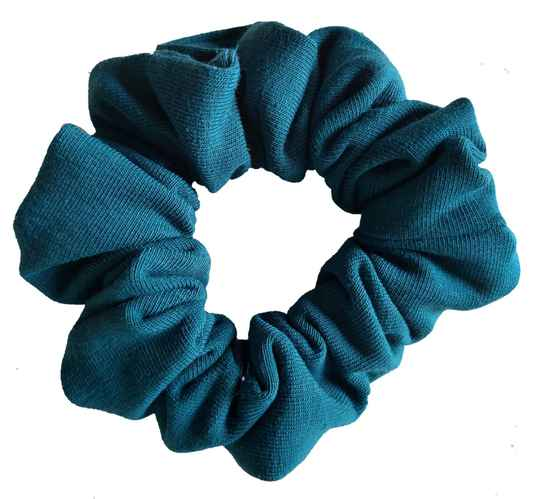 By Von Handmade Scrunchie Petrol