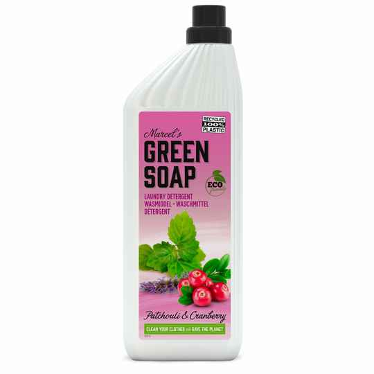 Marcel's Green Soap Wasmiddel Patchouli & Cranberry (1L)