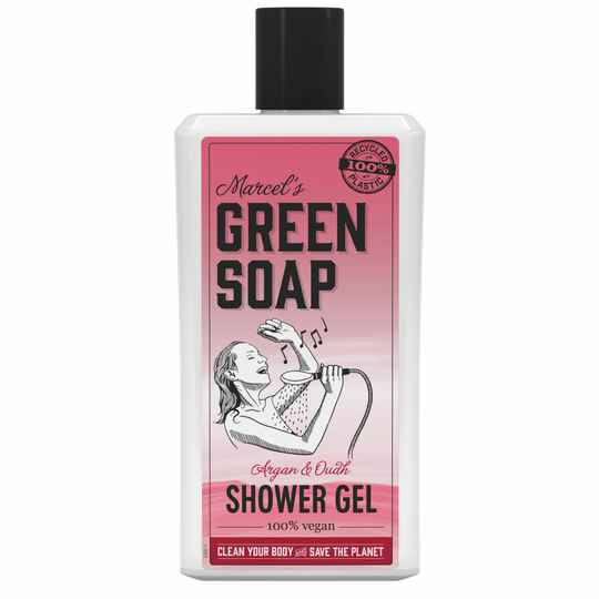 Marcel's Green Soap Shower Gel Argan & Oudh (500ML)