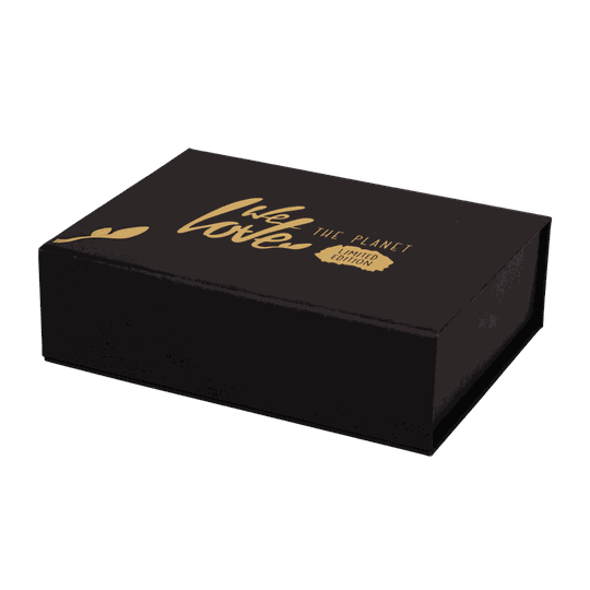 We Love The Planet Limited Edition Golden Giftset