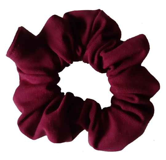 By Von Handmade Scrunchie Bordeaux
