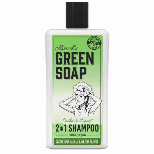 Marcel's Green Soap 2 in 1 Shampoo Tonka & Muguet (500ML)