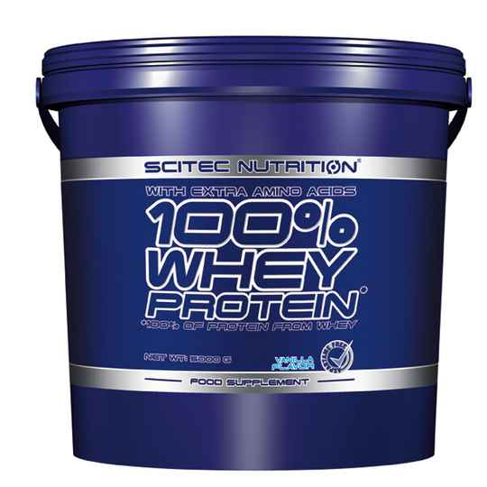 Scitec Nutrition 100% Whey Protein - 5kg