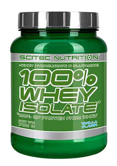 Scitec Nutrition 100% Whey Isolate - 700gr