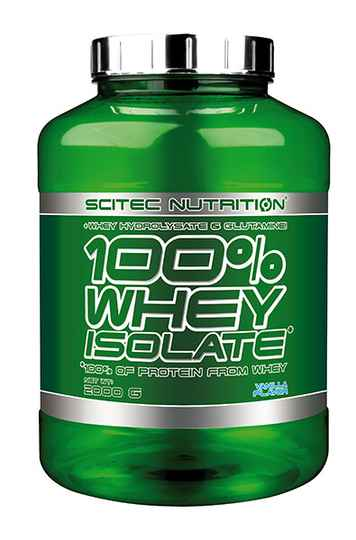 Scitec Nutrition 100% Whey Isolate - 2kg