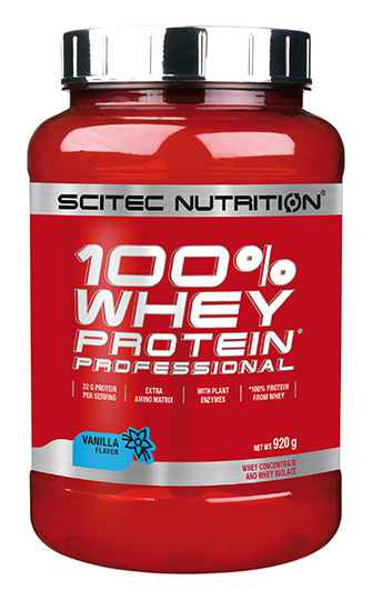 Scitec Nutrition 100% Whey Professional - 920gr
