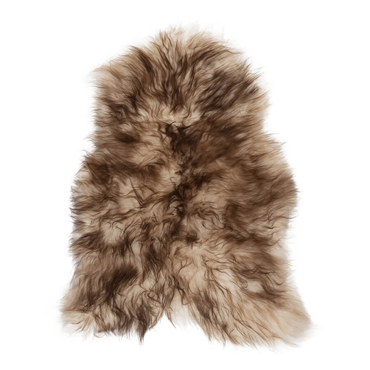 Sheepskin with brown tip