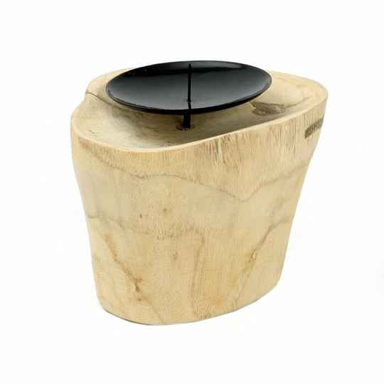 The Candle Pin - Natural Black