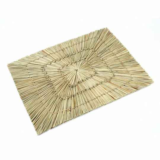 The Alang Alang Rectangular Placemat - Natural