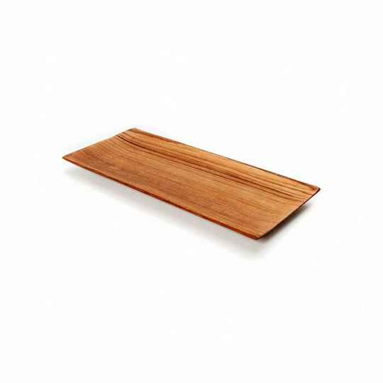 The Teak Root Sushi Plate - S