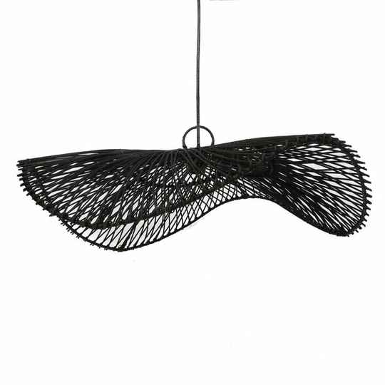 The Chapeau Pendant - Black - L