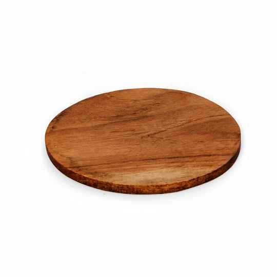The Teak Root Nordic Coaster