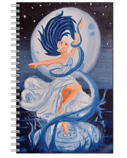 With the Moon I Rise Notebook