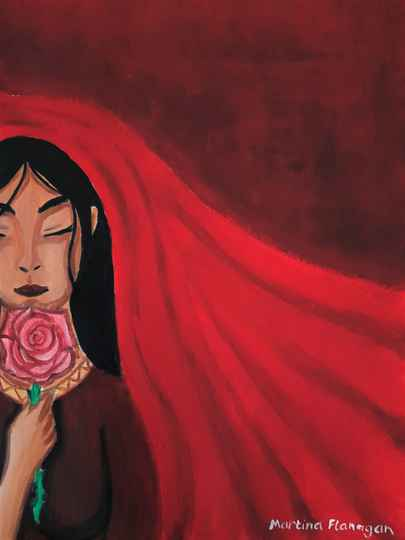 Mary Magdalene Queen of the Roses