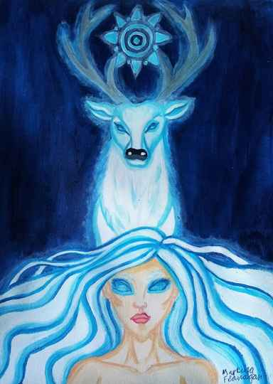 Spirit of The White Stag