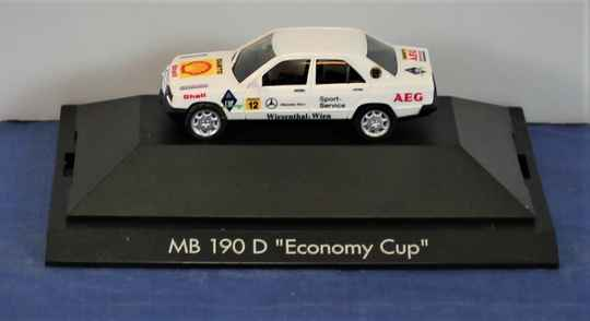 Herpa Private Collection 1/87 H0 100625 Mercedes Benz 190D 'Economy Cup'.
