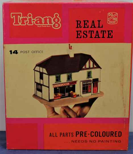 Triang Real Estate 00/ H0 RML.14 Post Office.