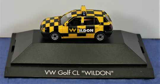 Herpa Private Collection 1/87 H0 100618 VW Golf CL 'Wildon'.