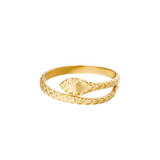Poisonous ring - goud