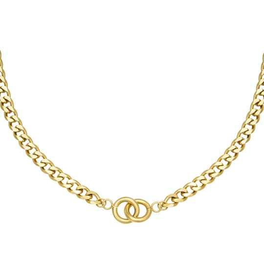 Ketting Intertwined - goud