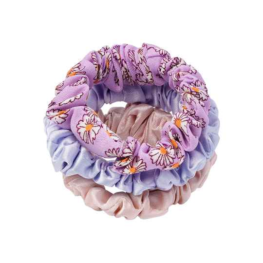 Lovely scrunchie set - paars
