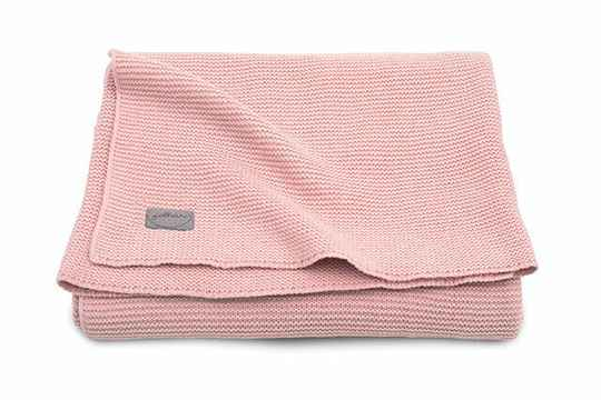 Basic Knit deken -  Pink Blush