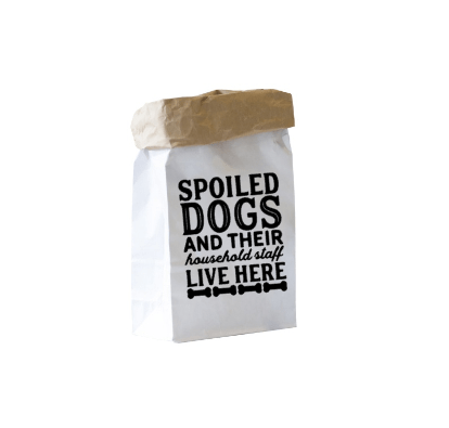 Paper bag Spoiled dogs