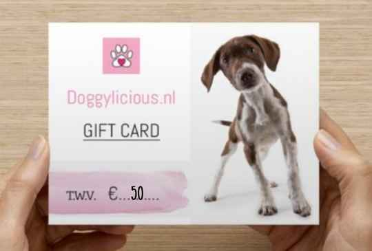 Giftcard t.w.v 50euro