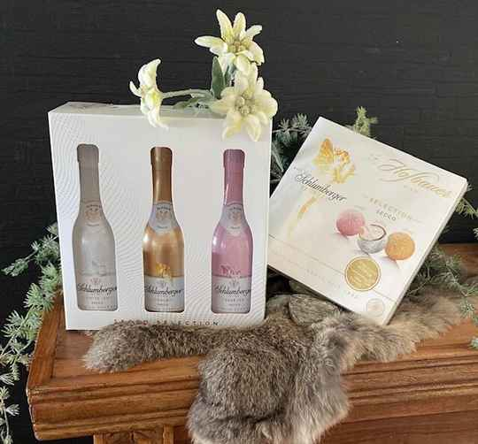Schlumberger Secco Selection Giftset met Secco Pralines