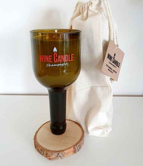 Wine Candle Campagne