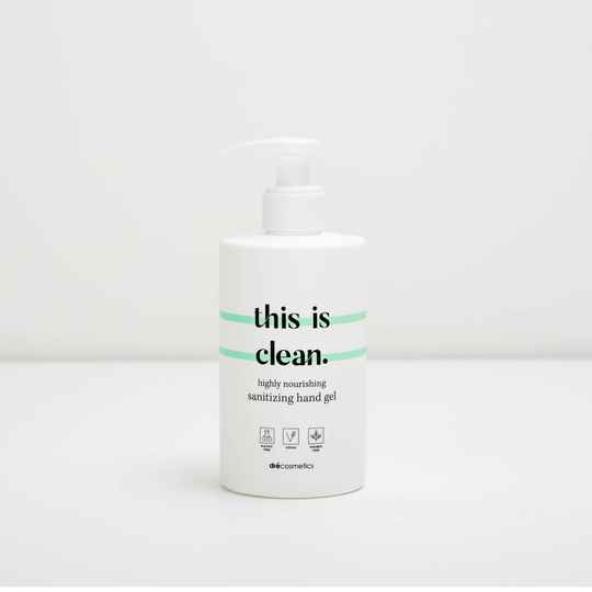 "Sanitizing handgel ""this is clean"" (300ml)"