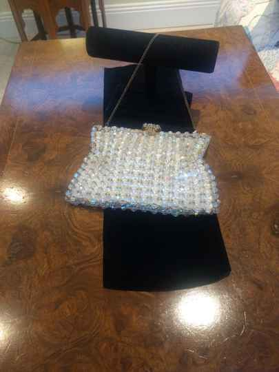 Beautiful Handed Stitched Crystal Bag