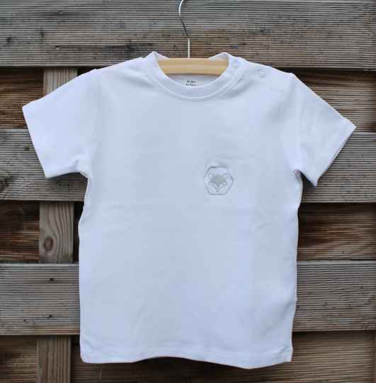 Comfy Shirt Little Foxies | White