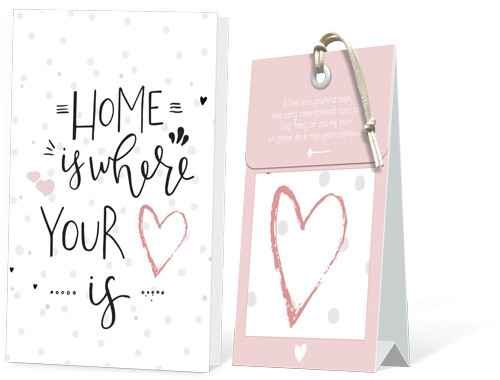 Home is where your Heart is Geurtasje