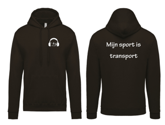 Trui Mijn sport is transport