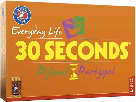ACTIE! 30 seconds (Orange edition)