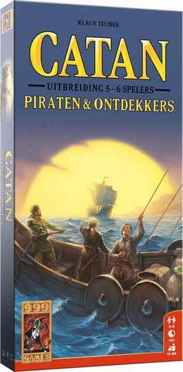 Catan: Piraten & Ontdekkers 5/6 spelers Bordspel